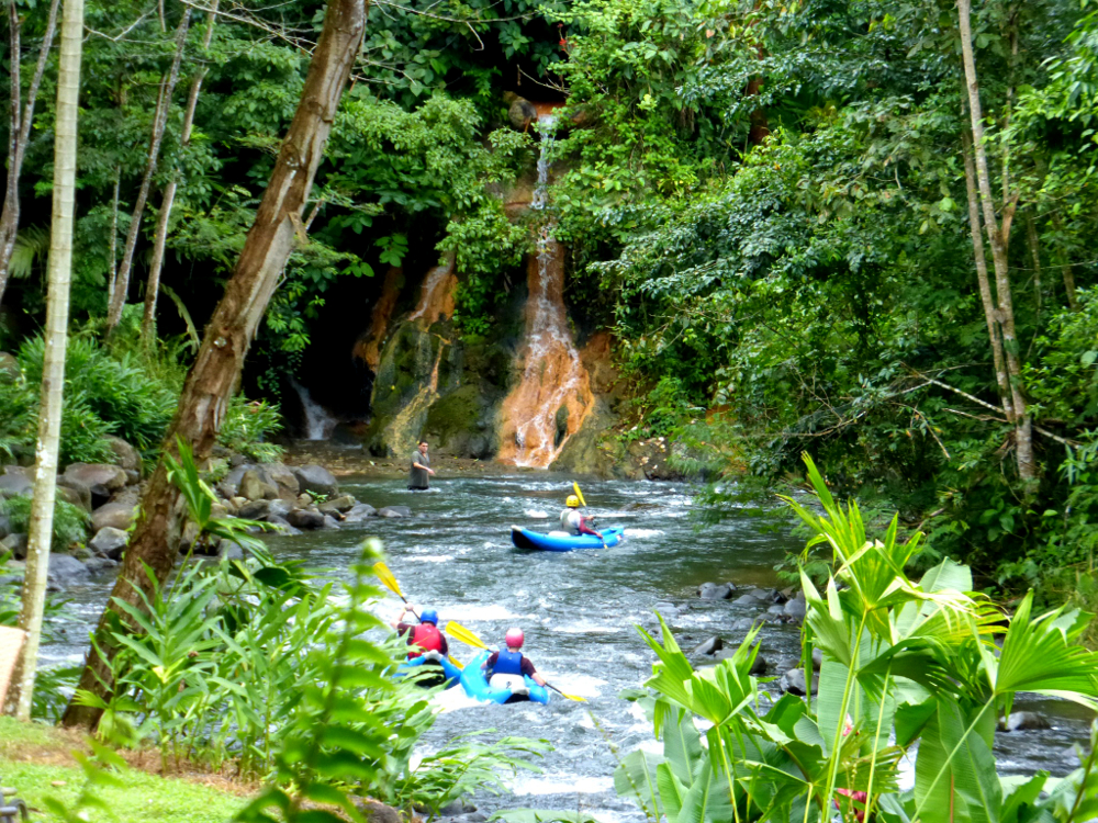 Kayakers at the Springs