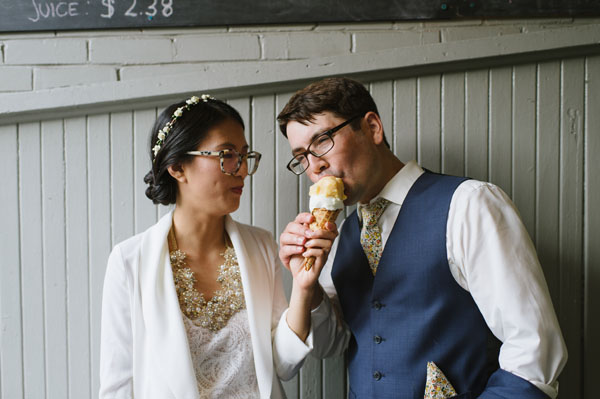 Celine Kim Photography KM Intimate restaurant Cluny Bistro Distillery District Toronto summer wedding-14