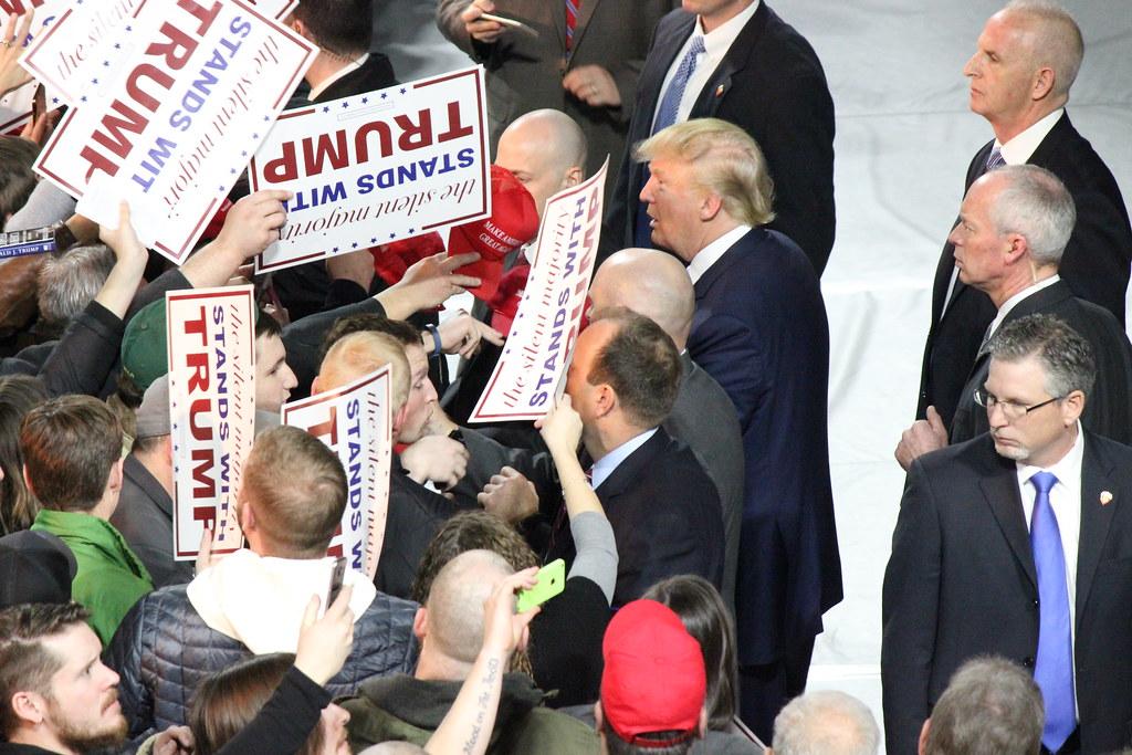 Donald Trump in Muscatine, Iowa