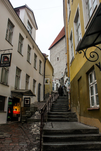 Tallin, capital de Estonia