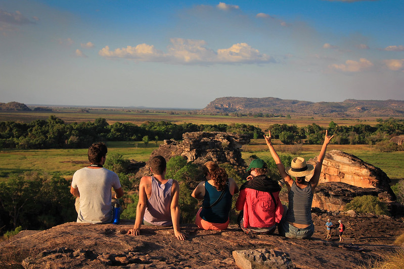 The Kakadu Crew in Ubirr