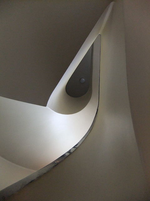Spiral Staircase in the Sonneveld House in Rotterdam, Holland