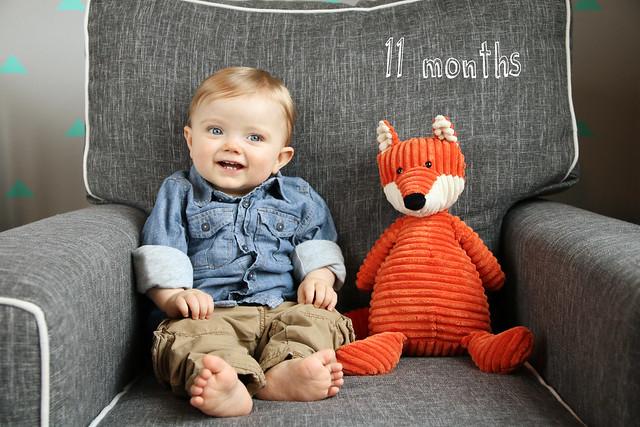 Finn at 11 months