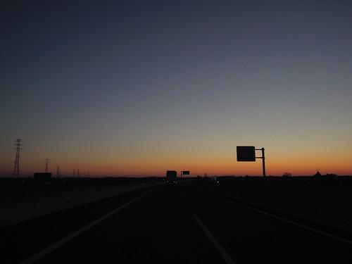 未明の高速