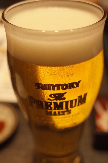 Premium Molts draft beer