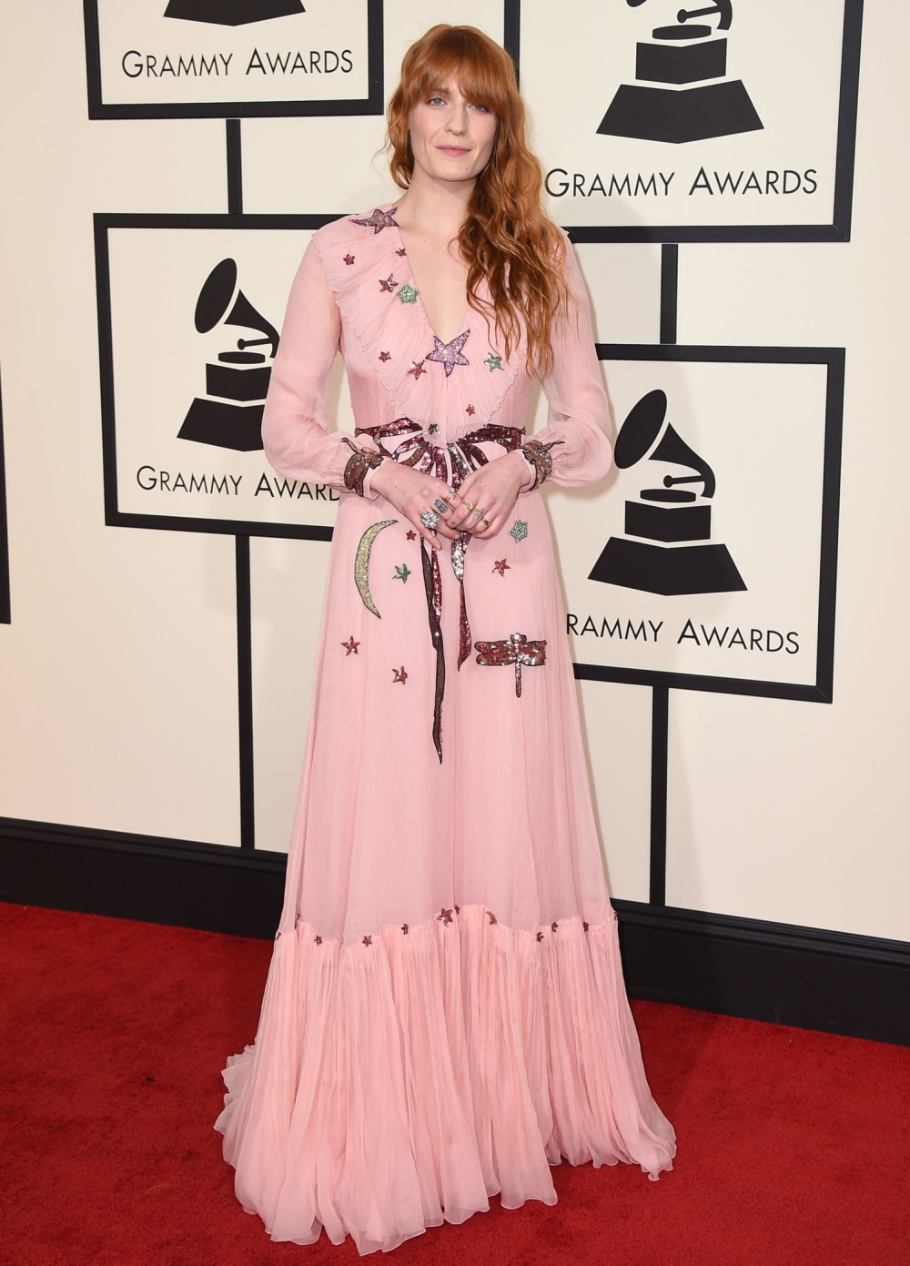 Florence Welch Grammys 2016 Best Dressed Celebrities
