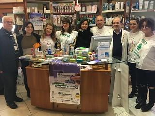 I volontari del Banco Farmaceutico