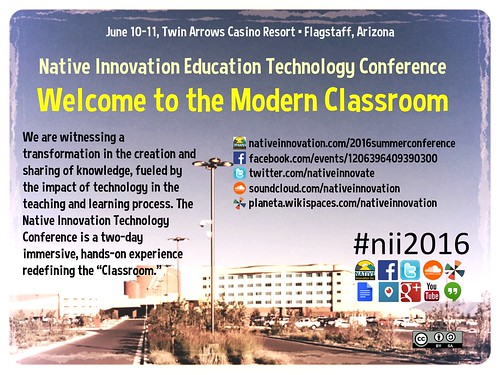 Welcome to the Modern Classroom #nii2016 @NativeInnovate @jay_soc @techkialo @LaVeldaC