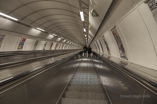【写真】東欧周遊 : メトロPeaceSquare駅