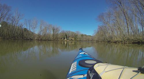 Saluda Lake Paddling-43