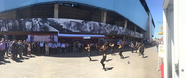 Performancia en la apertura de la Exposur en Rancagua (1 de marzo de 2016)