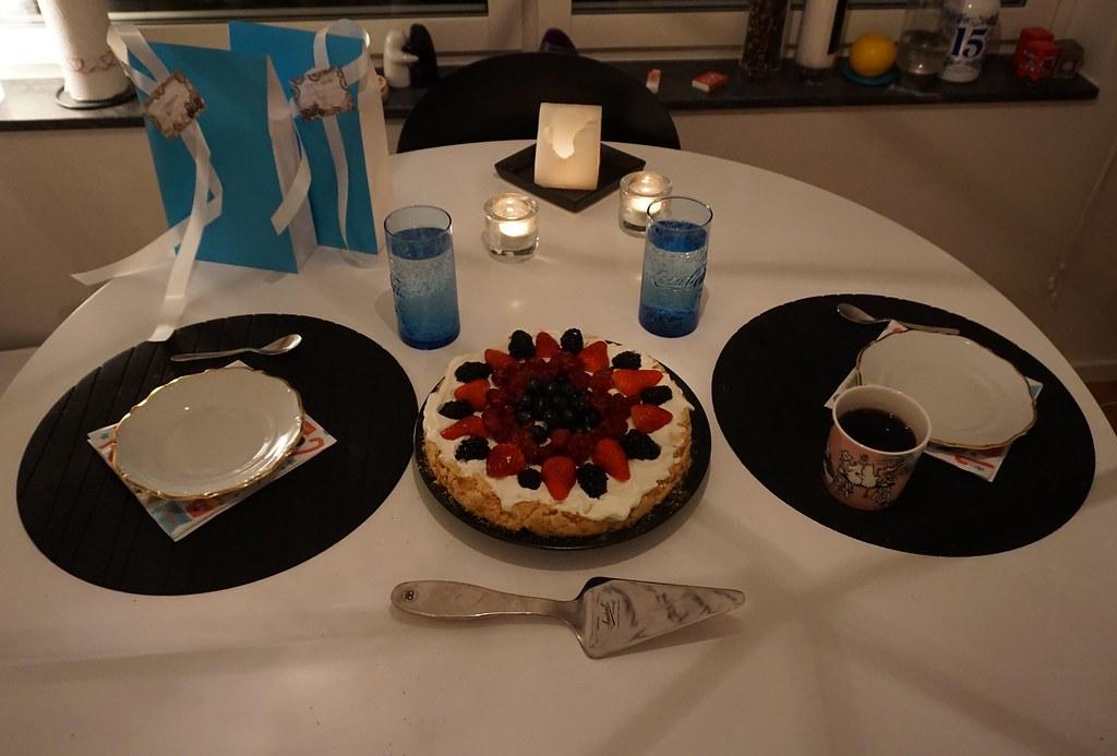Daniels tjugonioårsfirande del 2 tårta