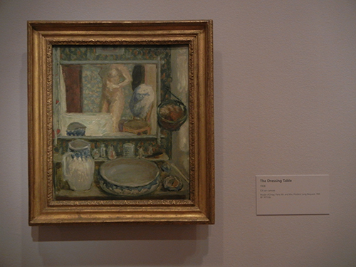 Pierre Bonnard, Legion of Honor, SF - The Dressing Table _ 1863