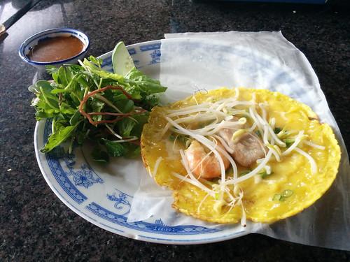 egg and shrimp roll