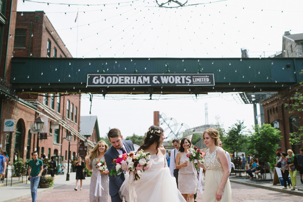 Celine Kim Photography AM Airship 37 distillery district romantic summer wedding-29