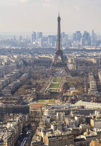Eiffel desde Montparnasse
