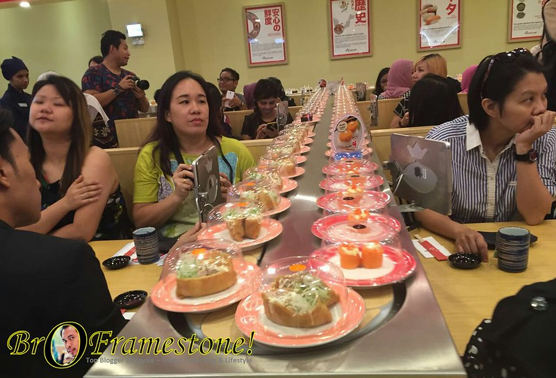 Perasmian Cawangan ke-100 Sushi King di AEON Mall, Shah Alam