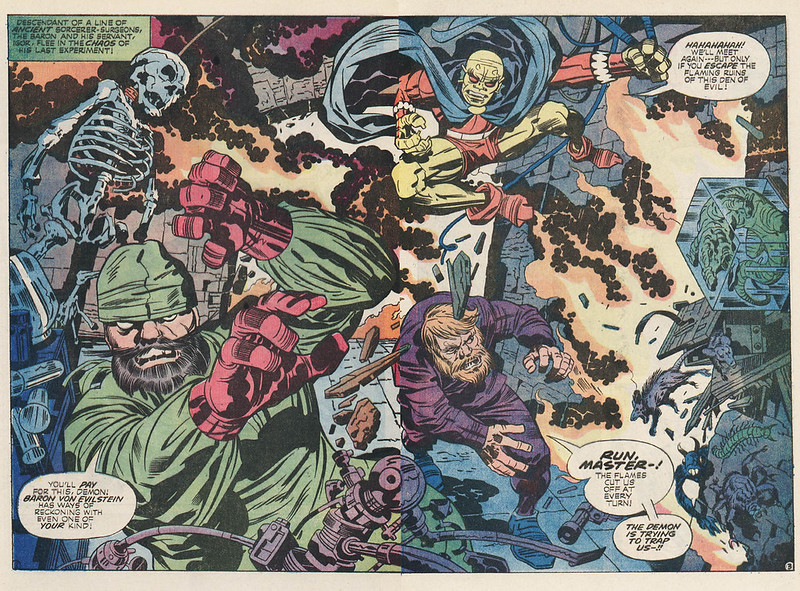 "Jack Kirby - Interior art from ""The Demon"" Issue 13, October 1973"