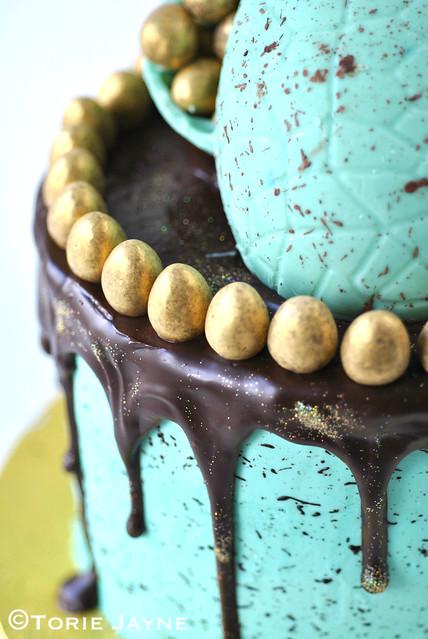 Gluten Free Chocolate layered Easter Cake Recipe 5