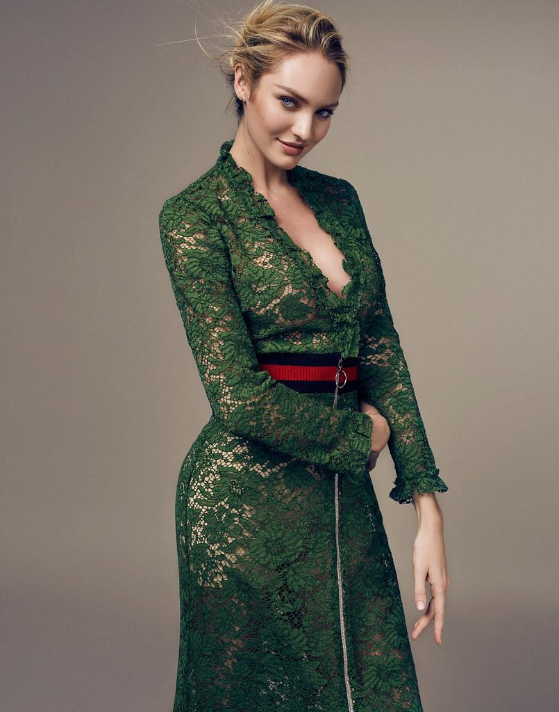 Кэндис Свейнпол — Фотосессия для «Elle» CH 2016 – 12