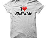 New I Love Running Unique Funny Men T-Shirt S-2XL