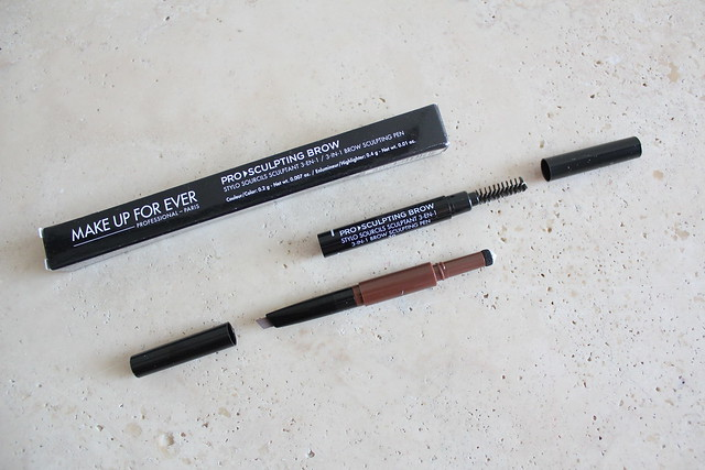 Make Up For Ever Pro Sculpting Brow review and swatch