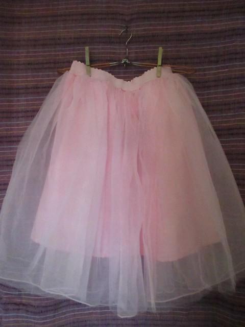 Yu & Me tulle skirt from Albert Cuypstraat