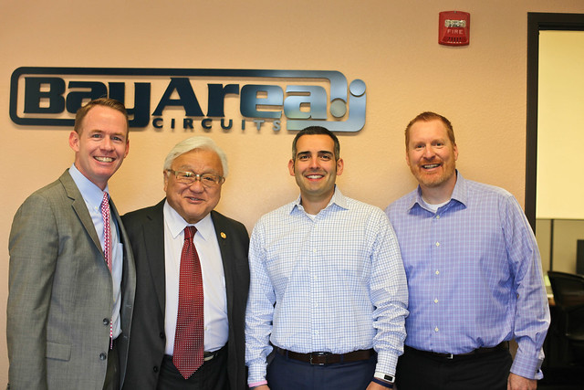Congressman Mike Honda Visits Bay Area Circuits' Manufacturing Plant in California