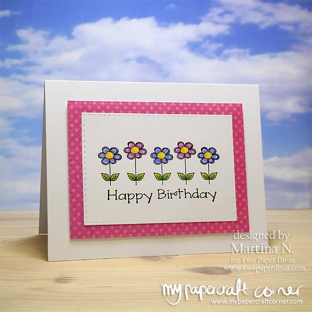 Happy Birthday - Card #428