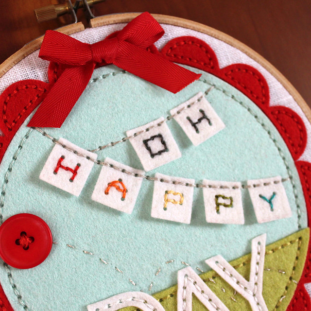 Oh Happy Day Hoop Close Up 3