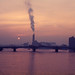 sunset from Albert Bridge, Jan 81 by Whiteflyman