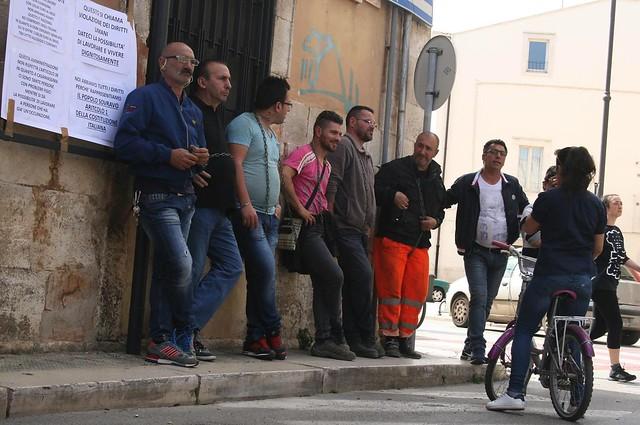 protesta lavoratori Casamassima (2)