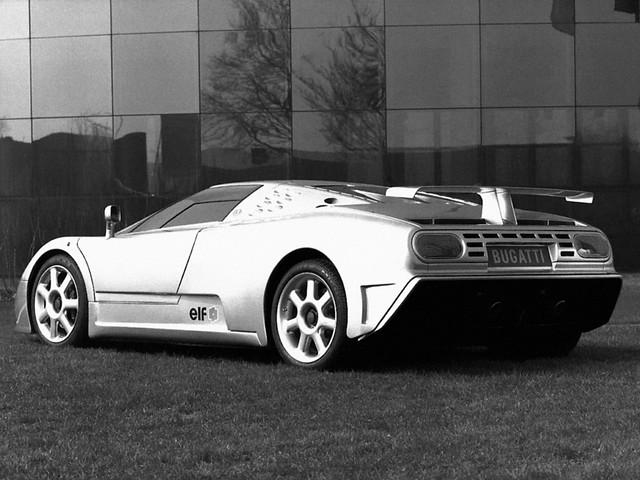 Bugatti EB110 SS Prototype. 1992 год