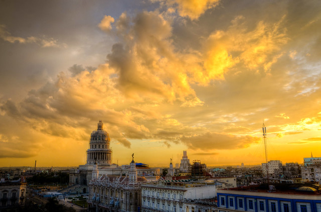 Capitol Building Sunset