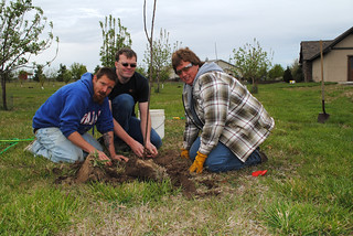 Rosewood Ranch Tree Planting