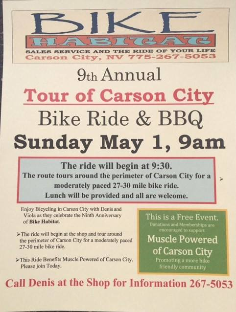 Tour of Carson City 2016