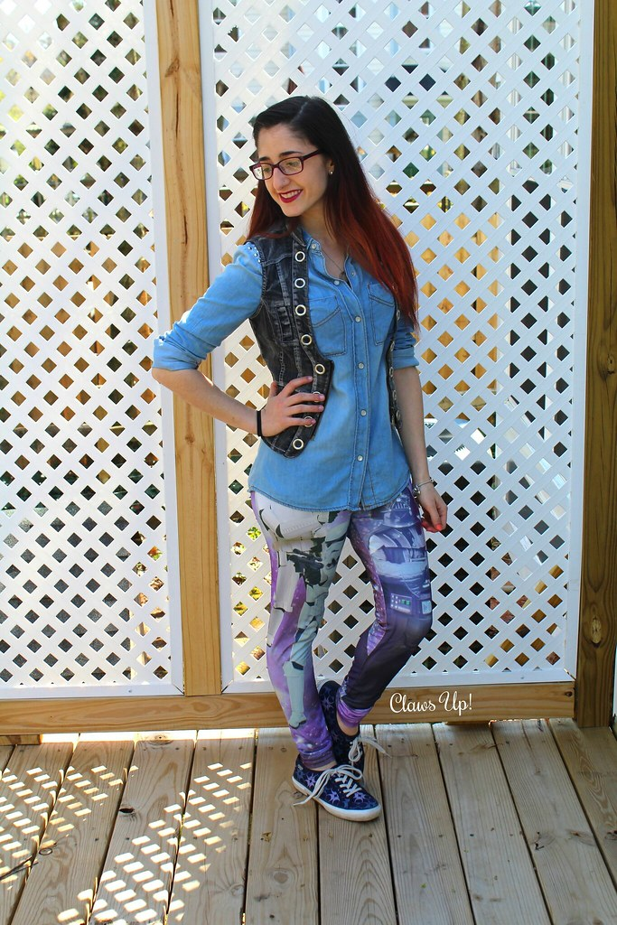 Star Wars leggings for May the 4th.