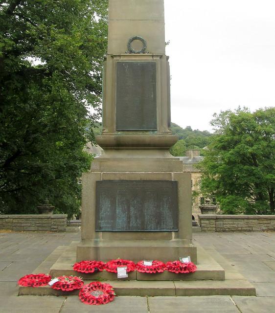 Buxton War Memorial Plaques