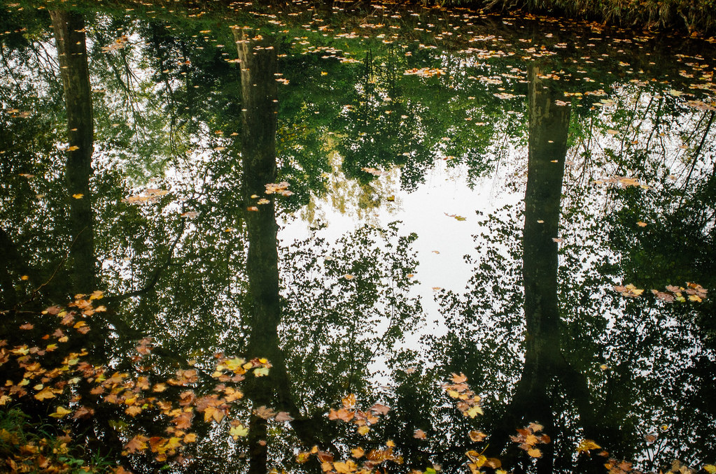Carnet de voyage en Sologne - Le canal de Berry à Bourges