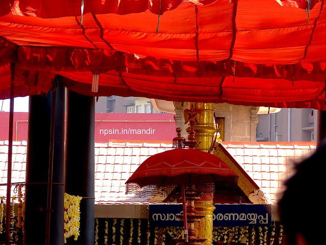 Beautiful Inner View of Colorful Temple in R.K. Puram