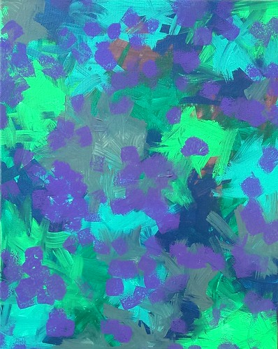 "Original Acrylic Abstract Painting on Canvas ""S8 XIII"""