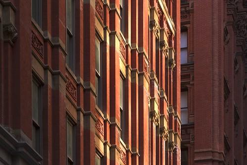 Red Brick Skyscrapers