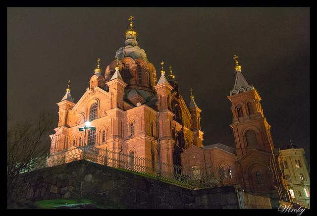 Laponia viaje Madrid Helsinki - Catedral ortodoxa Uspenski