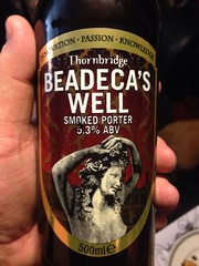 Beersperiment: Thornbridge Beadrca\'s Well Smoked Porter (Bakewell, UK) 4*