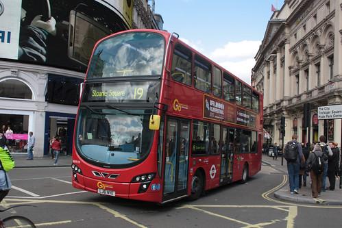 London General WHV19 LJ61NVE