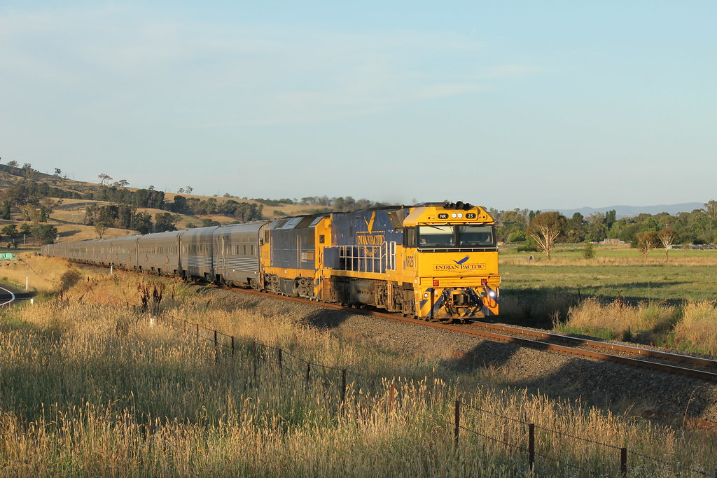 Indian Pacific - Georges Plains by james.sanders2