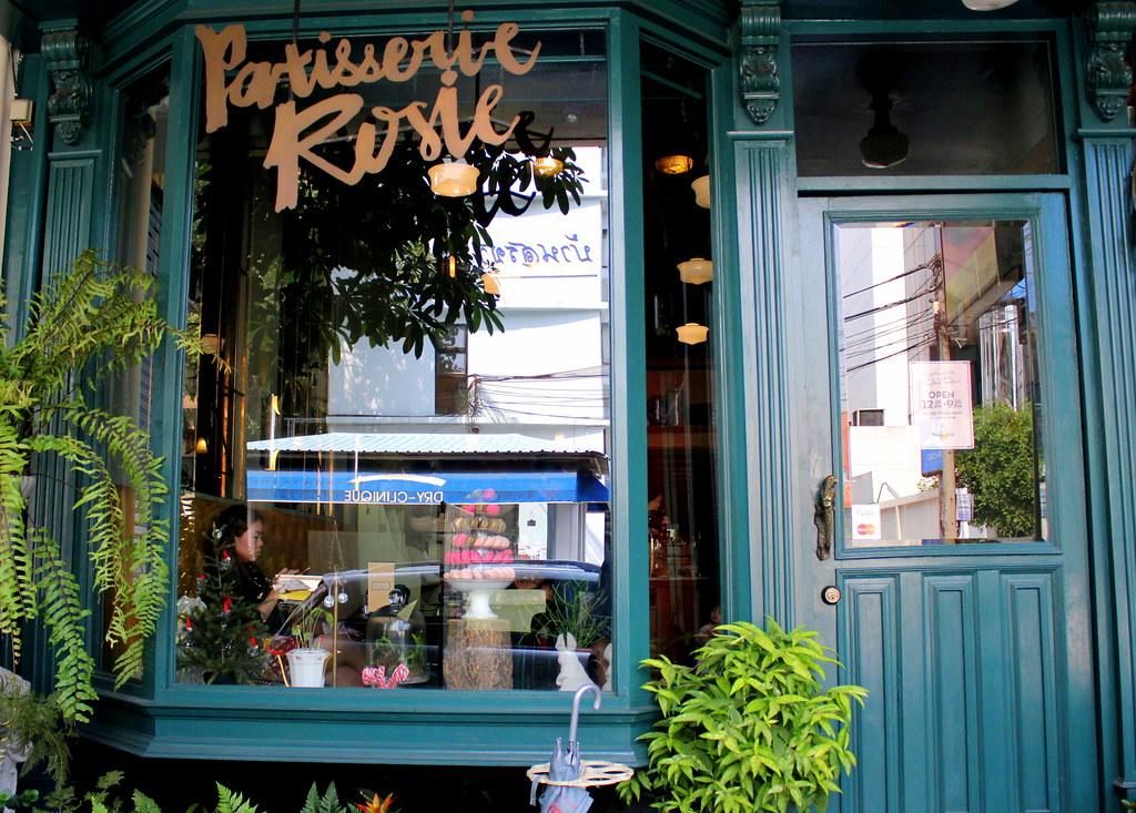 曼谷甜点:Patisserie Rosie入口