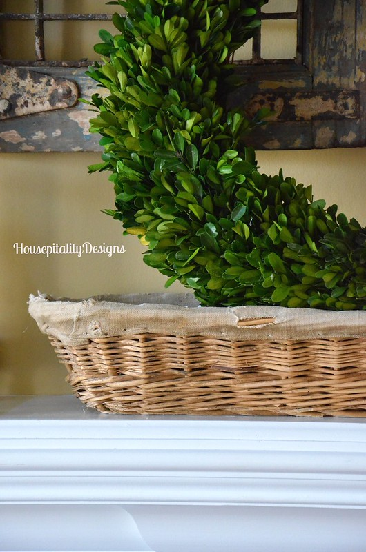 Antique French Bread Basket - Housepitality Designs