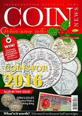 Coin News December 2015 issue
