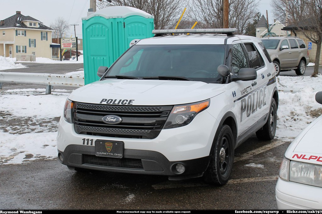 Marietta Ohio Police K-9 Ford Explorer Interceptor